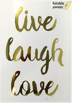 Lyxtelegram: Live laugh love