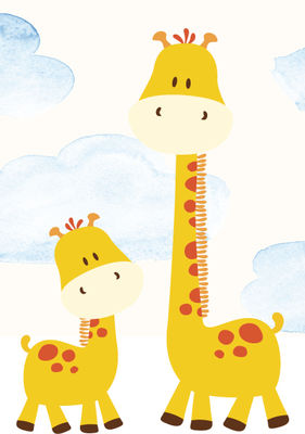 Lyxtelegram: Giraff